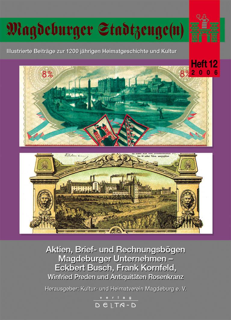 Magdeburger Stadtzeuge(n) Teil 12