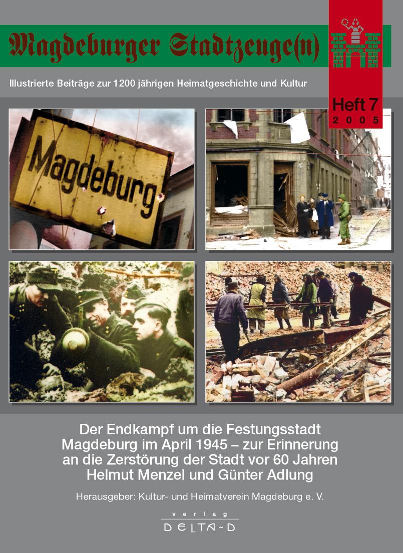 Magdeburger Stadtzeuge(n) Teil 7
